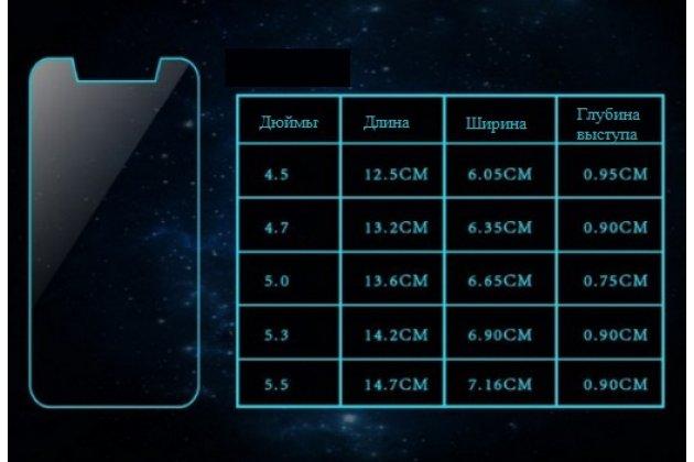 Защитное закалённое противоударное стекло премиум-класса с олеофобным покрытием совместимое и подходящее на телефон Huawei Honor 9 Premium