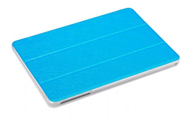 Фирменный умный чехол самый тонкий в мире для Teclast P98 4G Octa Core iL Sottile голубой пластиковый Италия