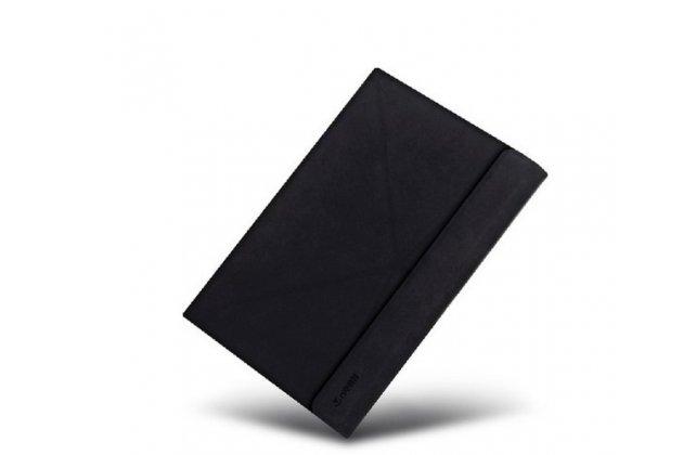 """Фирменный оригинальный чехол со съёмной Bluetooth-клавиатурой и тачпадом для Teclast X16HD 10.6"""" черный кожаный + гарантия"""