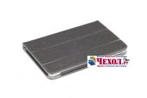 """Фирменный чехол-футляр-книжка для Teclast X16HD 10.6"""" черный кожаный"""