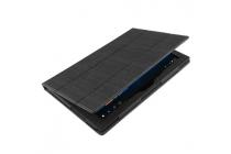 """Фирменный чехол-футляр-книжка для Teclast X2 Pro 11.6""""  черный кожаный"""