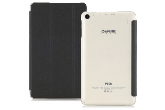 Фирменный эксклюзивный необычный чехол-футляр для Teclast P80H/X80/X80 Plus/P80/X80 Pro черный