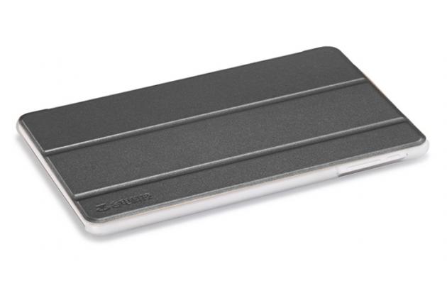 Фирменный умный чехол самый тонкий в мире для Teclast P80H/X80/X80 Plus/P80/X80 Pro iL Sottile черный пластиковый Италия