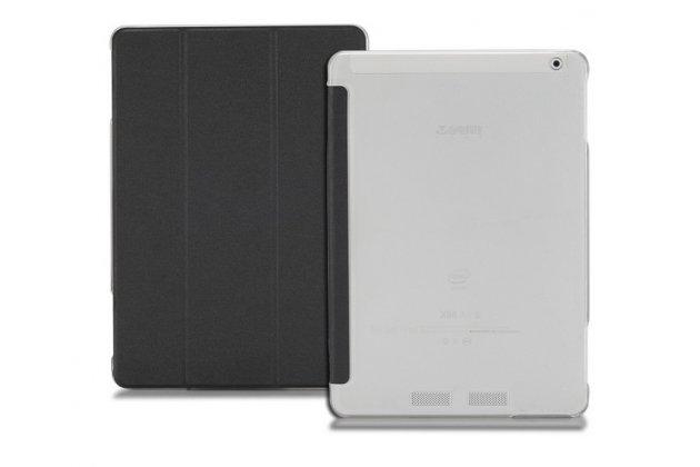 """Фирменный ультра-тонкий чехол-футляр-книжка для Teclast X98 Air 3 9.7""""  черный пластиковый"""