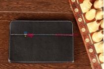 Чехол-обложка для TELEFUNKEN TF-MID801G черный кожаный