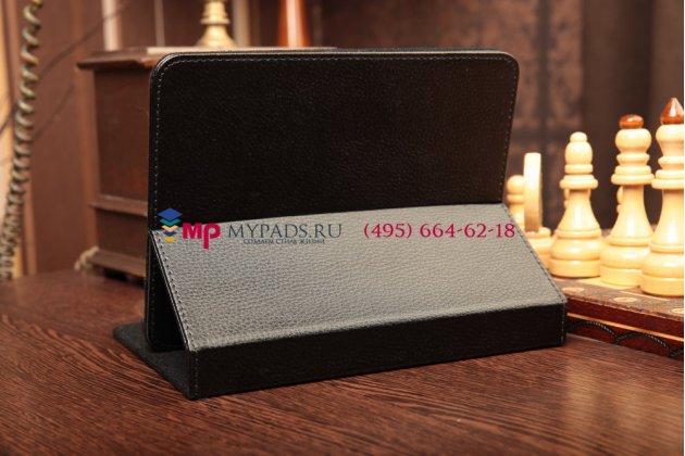 Чехол-обложка для teXet TB-807A кожаный цвет в ассортименте