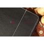Чехол-обложка для  черный кожаный TeXet TM-9737W