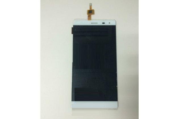 """Фирменное LCD-ЖК-экран-сенсорное стекло-тачскрин для телефона ThL T7 5.5"""" белый и инструменты для вскрытия + гарантия"""