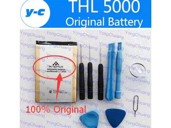 Фирменная аккумуляторная батарея Amprius 5000 mAh на телефон ThL T5000/ T4400 + инструменты для вскрытия + гар..