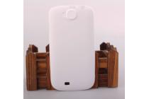 """Фирменная задняя панель-крышка-накладка из тончайшего и прочного пластика для ThL W8 Beyond"""" белая"""