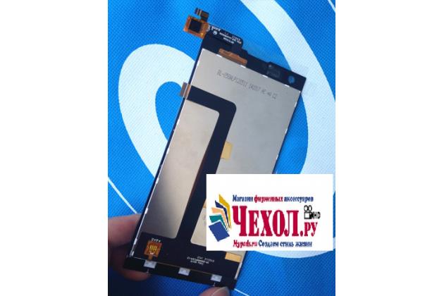 """Фирменный LCD-ЖК-сенсорный дисплей-экран-стекло с тачскрином на телефон ThL T100"""" черный"""