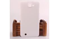 """Фирменная задняя панель-крышка-накладка из тончайшего и прочного пластика для ThL T200"""" белая"""