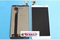 """Фирменный LCD-ЖК-сенсорный дисплей-экран-стекло с тачскрином на телефон ThL T200"""" белый"""