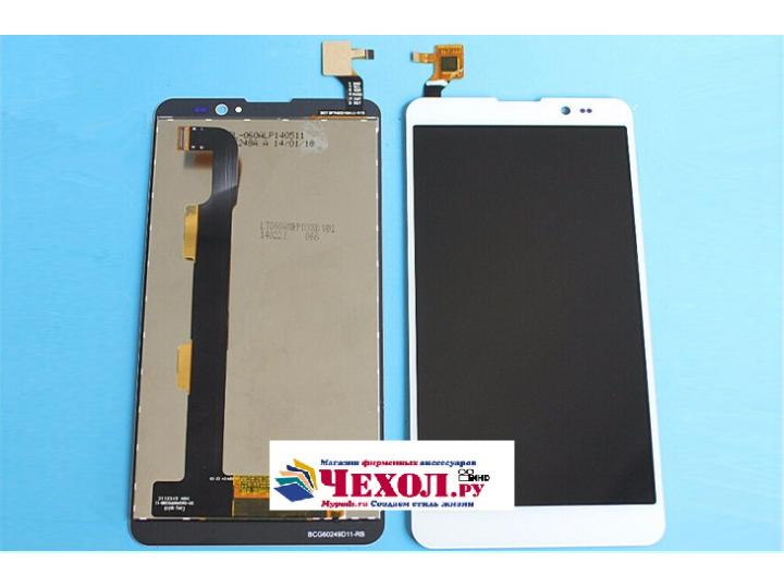 Фирменный LCD-ЖК-сенсорный дисплей-экран-стекло с тачскрином на телефон ThL T200 белый + гарантия..