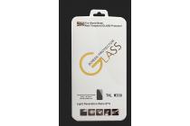 Фирменное защитное закалённое противоударное стекло премиум-класса из качественного японского материала с олеофобным покрытием для телефона ThL W200