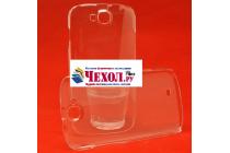 """Фирменная задняя панель-крышка-накладка из тончайшего и прочного пластика для ThL W8"""" прозрачная"""