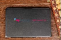 """Чехол для Toshiba WT310-K4S(108) черный кожаный """"Deluxe"""""""