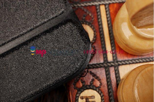 """Фирменный умный чехол самый тонкий в мире для Toshiba Excite AT7-A8 """"Il Sottile"""" черный пластиковый Италия"""