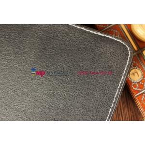 Чехол-обложка для  черный кожаный TurboGames TurboPad 1020
