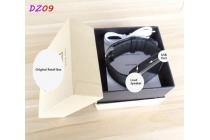 Фирменные оригинальные умные смарт-часы UWatch DZ09 Smart Watch (на Английском языке) в стальном корпусе с силиконовым ремешком
