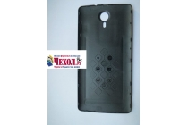 Родная оригинальная задняя крышка-панель которая шла в комплекте для Ulefone BeTouch 3 черная