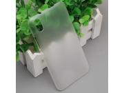 Фирменная задняя панель-крышка-накладка из тончайшего и прочного пластика для Ulefone Paris