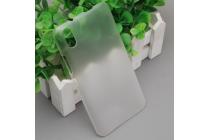 """Фирменная задняя панель-крышка-накладка из тончайшего и прочного пластика для Ulefone Paris"""" прозрачная"""