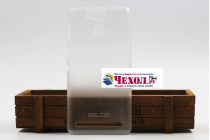 """Фирменная задняя панель-крышка-накладка из тончайшего и прочного пластика для Ulefone Power"""" белая матовая"""