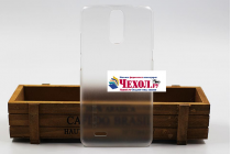 """Фирменная задняя панель-крышка-накладка из тончайшего и прочного пластика для Ulefone Vienna"""" прозрачная"""
