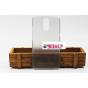 Фирменная задняя панель-крышка-накладка из тончайшего и прочного пластика для Ulefone Vienna