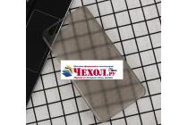 Фирменная задняя панель-крышка-накладка из тончайшего и прочного пластика для Umidigi Z1 / Umidigi Z1 Pro серая