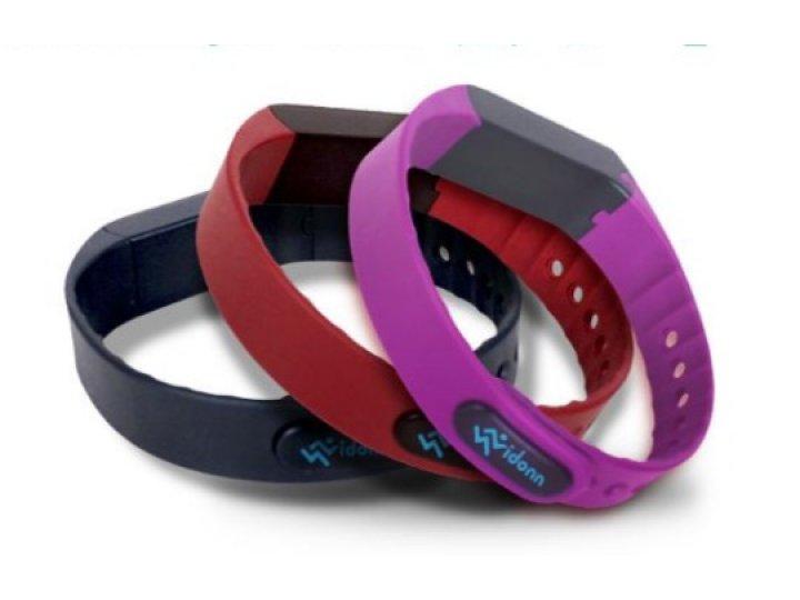 Фирменный сменный силиконовый ремешок для фитнес-браслета Vidonn X6s разноцветный..