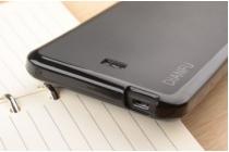 Фирменная ультра-тонкая полимерная из мягкого качественного силикона задняя панель-чехол-накладка для Viewsonic V500  белая