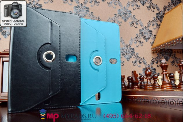 Чехол с вырезом под камеру для планшета Viewsonic VB80a Pro роторный оборотный поворотный. цвет в ассортименте