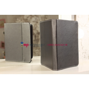 Чехол-обложка для Viewsonic ViewPad 97Q черный кожаный