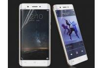 Фирменная оригинальная 3D защитная пленка с закругленными краями которое полностью закрывает экран для телефона Vivo XPlay 5/ XPlay 5 Ultimate Edition глянцевая