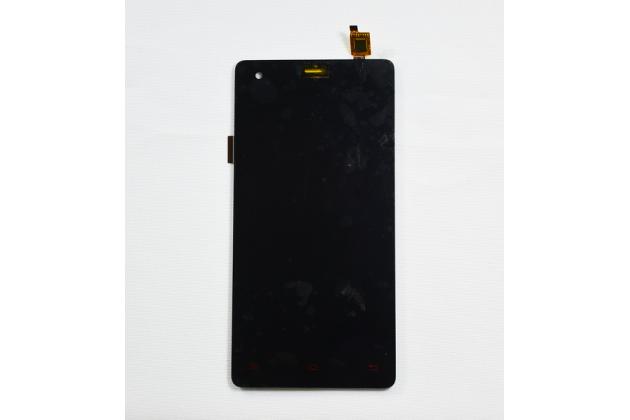 """Фирменный LCD-ЖК-сенсорный дисплей-экран-стекло с тачскрином на телефон Vkworld VK6735X"""" черный"""