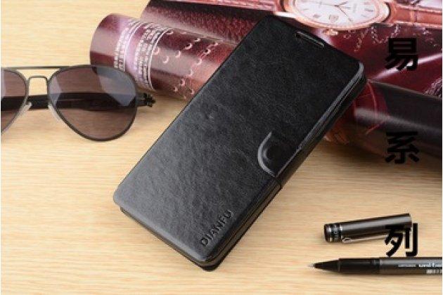 Фирменный чехол-книжка из качественной импортной кожи с мульти-подставкой застёжкой и визитницей для Вкворлд Вk 700 черный