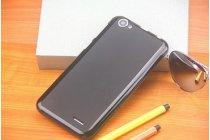 Фирменная ультра-тонкая полимерная из мягкого качественного силикона задняя панель-чехол-накладка для  Vkworld VK700 черная