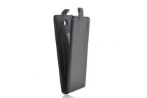 """Фирменный вертикальный откидной чехол-флип для Vkworld VK700X"""" черный"""