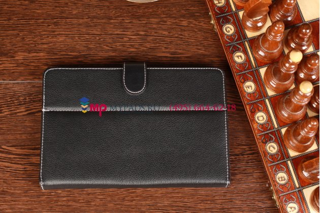 Чехол-обложка для Wexler TAB 7b 8Gb\16Gb\8Gb 3G\16Gb 3G  черный кожаный