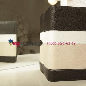 Чехол-обложка для Wexler TAB 7b 8Gb\16Gb\8Gb 3G\16Gb 3G черный с серой полосой кожаный