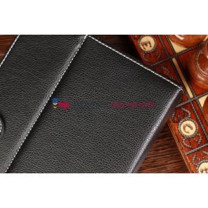 Чехол-обложка для Wexler TAB 7t 8Gb\16Gb\32Gb\8Gb 3G\16Gb 3G\32Gb 3G черный кожаный