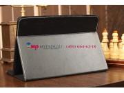 Чехол-обложка для Wexler TAB 10iS 8Gb\16Gb\32Gb\8Gb 3G\16Gb 3G\32Gb 3G черный кожаный ..