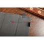 Чехол-обложка для Wexler TAB 10iS 8Gb\16Gb\32Gb\8Gb 3G\16Gb 3G\32Gb 3G синий с красной полосой кожаный