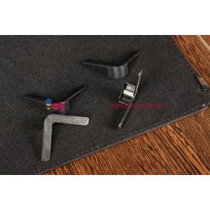 Чехол-обложка для Wexler TAB 7100 4Gb\8Gb черный кожаный