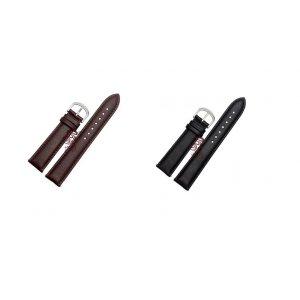Фирменный сменный кожаный ремешок для умных смарт-часов Withings Activite/Activite Pop из качественной импортной кожи