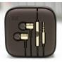 Наушники-вкладыши с микрофоном и переключателем песен Xiaomi Piston 2 золотые для всех моделей телефонов.Анало..