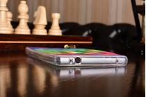 """Фирменная уникальная задняя панель-крышка-накладка из тончайшего силикона для Xiaomi MI MIX 6.4"""" с объёмным 3D рисунком """"тематика Яркая Мозайка"""""""
