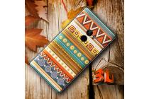 """Фирменная уникальная задняя панель-крышка-накладка из тончайшего силикона для Xiaomi MI MIX 6.4"""" с объёмным 3D рисунком """"тематика Эклектические узоры"""""""